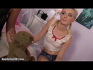 Cutest blonde teen you ve ever seen gets fucked