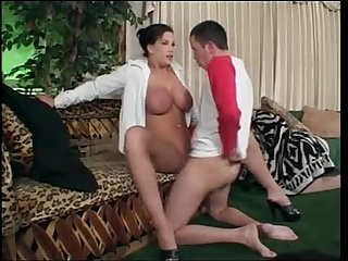 Hot milf knows what to do with his cock from sluttymilf69.com