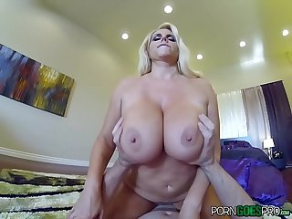 PornGoesPro - Karen Fisher big booty is fucked by a big dick