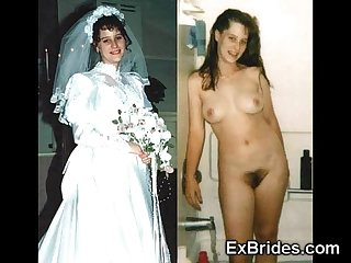 Brides naughty in public excl