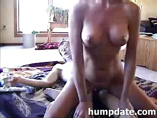 Wife toying her pussy while she gets anal