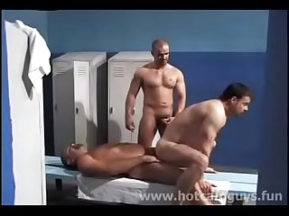 Two hard Cops in the locker room