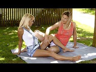 Group lesbo teen girls