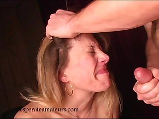 Christy sucking cock for cash