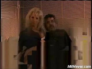 Sexy blonde milf teejay