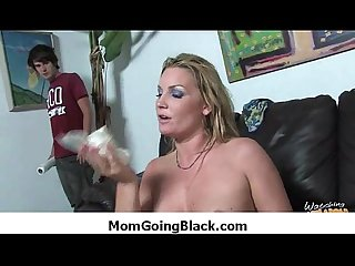 Black monster fucks my moms tight pussy 7