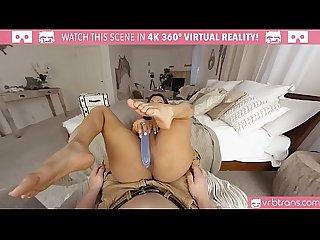 VRBTrans.com Jessy Dubai stroking her hard long cock
