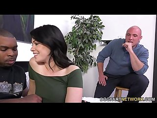 Cuckold watches ava dalush takes black cock