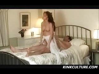 Wedding night sex spanking and submission