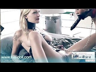 Belleclaire plays with tracy delicious on live doll com enjoy interactive sex