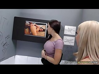 Brooklyn chase chanel preston tries anal gloryhole