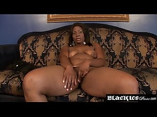 Hardcore hammering with BBW Ebony and monster black stud