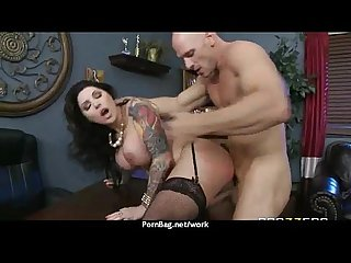 Submissive office busty assistant finally fucks her boss 9