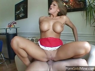 Eva laurence gets fucked on the couch
