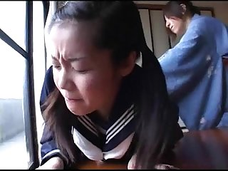 179 decent manner mom spanks schoolgirl for being late to class