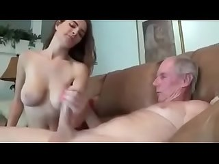 Young girl handjob