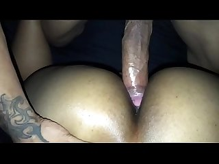 Thick thot loving big dick in her ass