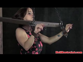 Stocked submissive being humiliated