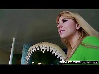 Lil Teen blonde rides cock Brazzers day with A Pornstar lpar lexi Belle rpar Brazzers