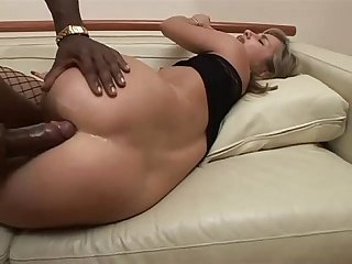 Anal dilation of A tight white Ass banged by A Black guy