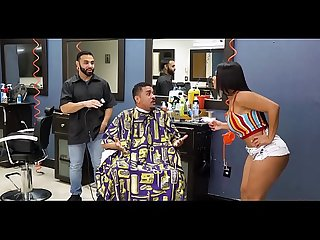 Rose Monroe Her Big Ass For Revenge In Barbershop