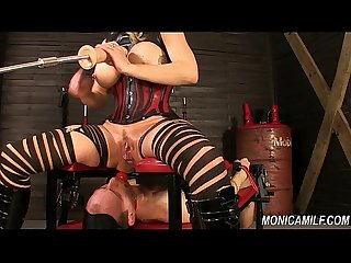 Monicamilf is squiring on her femdom slave norwegian kink