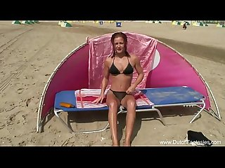 Dutch voyeur beach sex milf