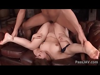 Hardcore threesome with bewitching and busty ririsu ayaka