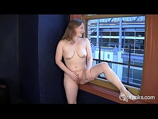 Sweet lili masturbating hard