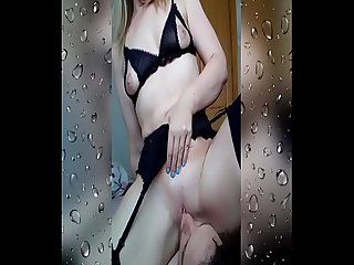 Licking my wife S pussy till she squirts hornywife80 2018