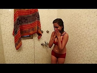 Hot Bathroom Scene - Lal Chhadi In Bathroom