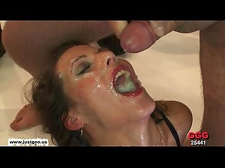 Taking turns on the queen of cum viktoria german goo girls