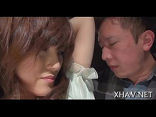 Japanese�slut fucks with sex tool