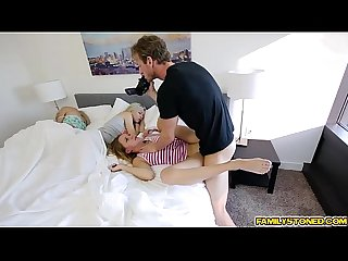 Hollie macks step dad raiding her Teen pussy