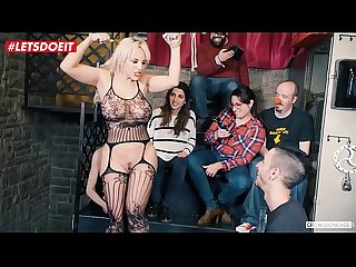 Big Ass Sexy Teen Gets tied and abused at bondage party (Blondie Fesser)