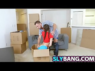 Moving in and undressing Olivia Lua