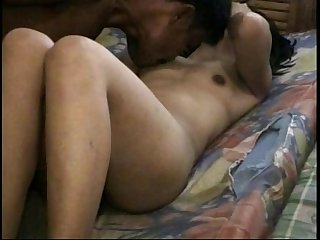 Hot authentic asian homemade porno action