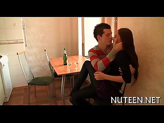 Awesome lustful legal age teenager