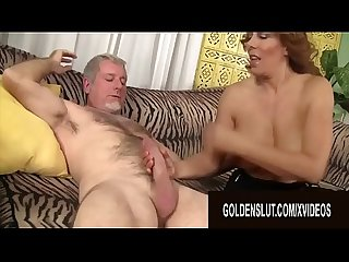 Golden Slut - Big Tits Matures Giving Perfect Blowjobs Compilation Part 1