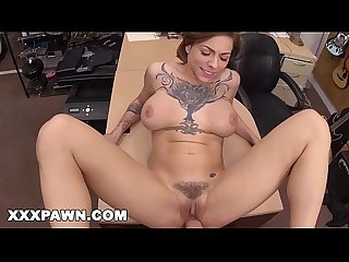 Xxx pawn tattooed babe harlow harrison gives pawnshop owner a hard time