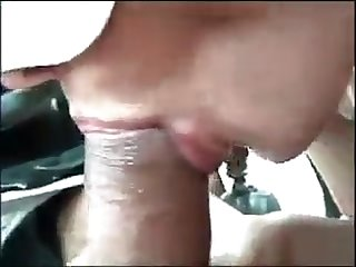 Blow job in auto