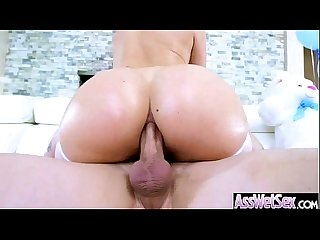(aj applegate) Girl With Big Curvy Oiled Up Butt Enjoy Hardcore Anal Sex vid-01