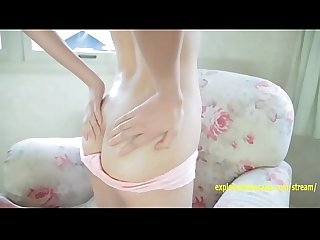 Hikari eto jav idol debut teases with her panties between her labia