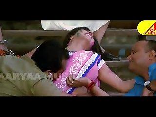 Bhojpuri monalisa hot navel kiss and press by villain