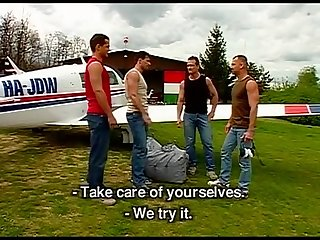 Luciano endino and euro dudes fuck before take off