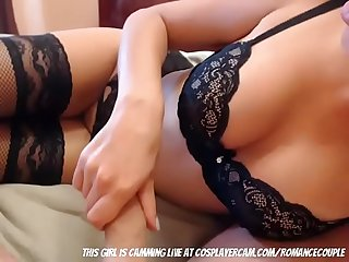 Young high school couple trying anal she screams