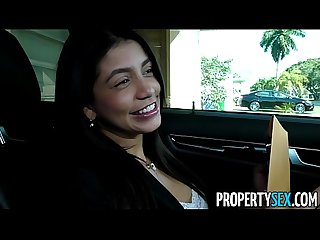 Propertysex squirting real estate agent Cheers up her client with amazing sex