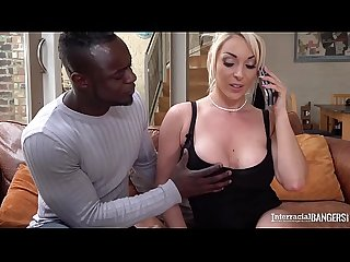 Interracial bangers can watch blondie Victoria Summers suck big black cock