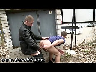 Amateur free gay porno dudes have anal sex in town
