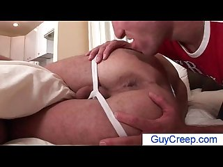 Dude gets ass rimmed and fingered while dreaming by guycreep